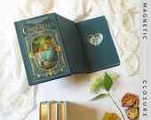 Hollow Book Safe with Heart |  Cinderella | Magnetic Closure