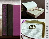 "Hollow Book Safe Ring Bearer | Harry Potter and The Half-Blood Prince ""Unbreakable Vow"" without dust-jacket 
