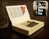 Hollow Book Safe & Flask - The Godfather (Magnetic Closure)
