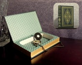 Hollow Book Safe - Vintage The Adventures of Huckleberry Finn Franklin Library (Magnetic Closure)