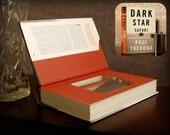 Hollow Book Safe & Flask - Dark Star Safari (Magnetic Closure)