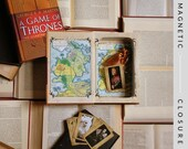 Hollow Book Safe |  A Game of Thrones Illustrated Edition | Magnetic Closure