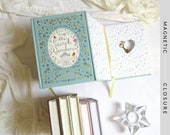 Hollow Book Safe with Heart | The Secret Garden | Magnetic Closure