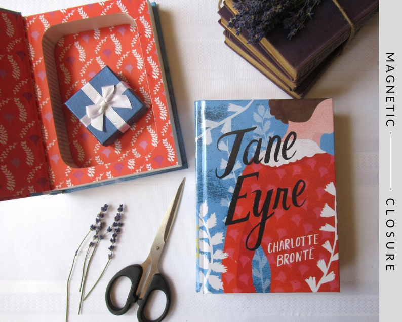 Hollow Book Safe  Jane Eyre  Magnetic Closure image 0