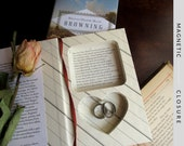 """Hollow Book Safe with Heart 