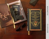 Hollow Book Gun Safe | The Constitution of the USA | Magnetic Closure