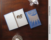 Hollow Book Safe with Heart | Pocket Size The Great Gatsby | Magnetic Closure