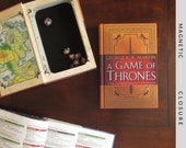 Dice Tray Hollow Book | A Game of Thrones | Magnetic Closure