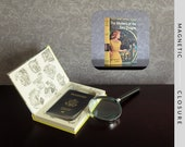 Hollow Book Safe | Vintage 1961 Nancy Drew: The Mystery of the Fire Dragon | Magnetic Closure
