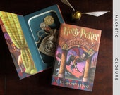 Hollow Book Safe | Harry Potter and The Sorcerer's Stone | Magnetic Closure