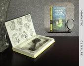 Hollow Book Safe | Vintage 1970 Nancy Drew: The Secret of the Old Clock | Magnetic Closure