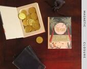 Hollow Book Safe | Treasure Island | Magnetic Closure