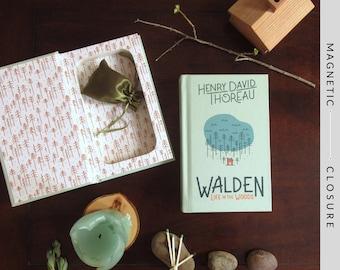 Hollow Book Safe | Walden | Magnetic Closure