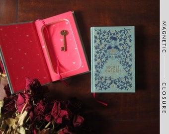 Hollow Book Safe | The Secret Garden | Magnetic Closure
