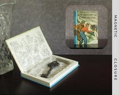 Hollow Book Safe | Vintage 1966 The Hardy Boys: The Mystery of Cabin Island | Magnetic Closure
