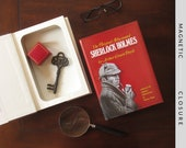 Hollow Book Safe | Sherlock Holmes | Magnetic Closure