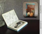 Hollow Book Safe | Vintage 1975 The Hardy Boys: The Mystery of the Aztec Warrior | Magnetic Closure