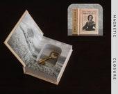 Hollow Book Safe | Mini The Brontës | Magnetic Closure