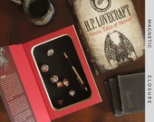 Dice Tray Hollow Book | H.P. Lovecraft: Great Tales of Horror | Magnetic Closure