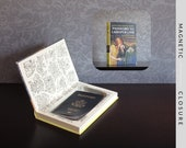 Hollow Book Safe | Vintage 1966 Nancy Drew: Password to Larkspur Lane |  Magnetic Closure
