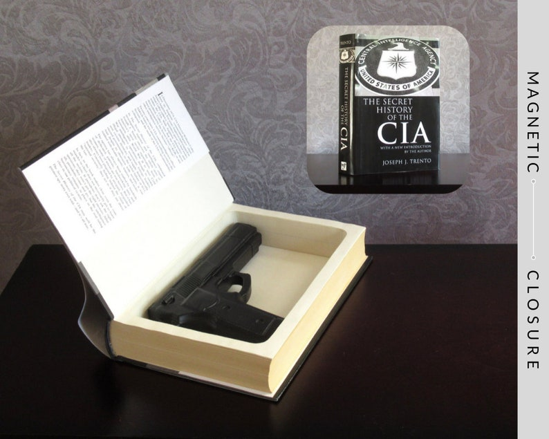 Hollow Book Gun Safe  The Secret History of the CIA  image 0