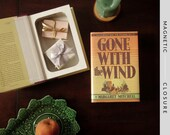 Hollow Book Safe | Gone with the Wind | Magnetic Closure