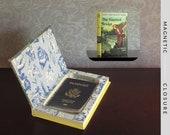 Hollow Book Safe | Vintage 1937 Nancy Drew: The Haunted Bridge | Magnetic Closure