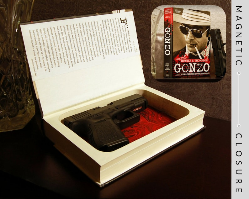 Hollow Book Gun Safe  Gonzo: The Life of Hunter S. Thompson  image 0