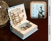 Hollow Book Safe | Mini Jane Austen | Magnetic Closure