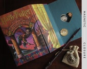 Hollow Book Safe with Heart | Harry Potter and The Sorcerer's Stone | Magnetic Closure