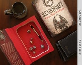 Hollow Book Safe | H.P. Lovecraft: Great Tales of Horror | Magnetic Closure