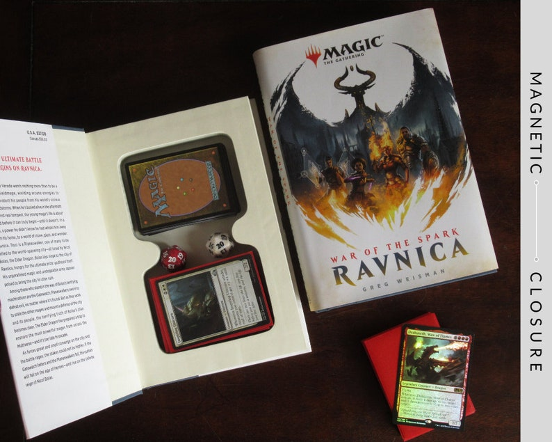 Deck Box Hollow Book  Magic: The Gathering War of the Spark image 0