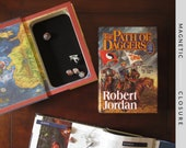 Dice Tray Hollow Book | The Path of Daggers | Magnetic Closure