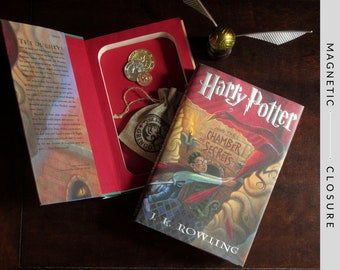 Hollow Book Safe | Harry Potter and The Chamber of Secrets | Magnetic Closure