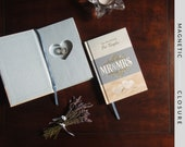 Hollow Book Safe with Heart | Mr. & Mrs. 366 Devotions For Couples | Magnetic Closure