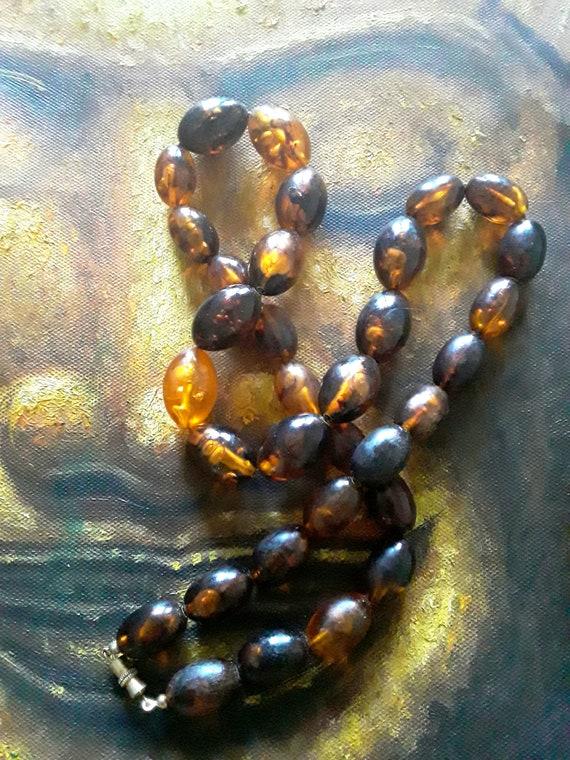 Vintage Healing Amber Necklace