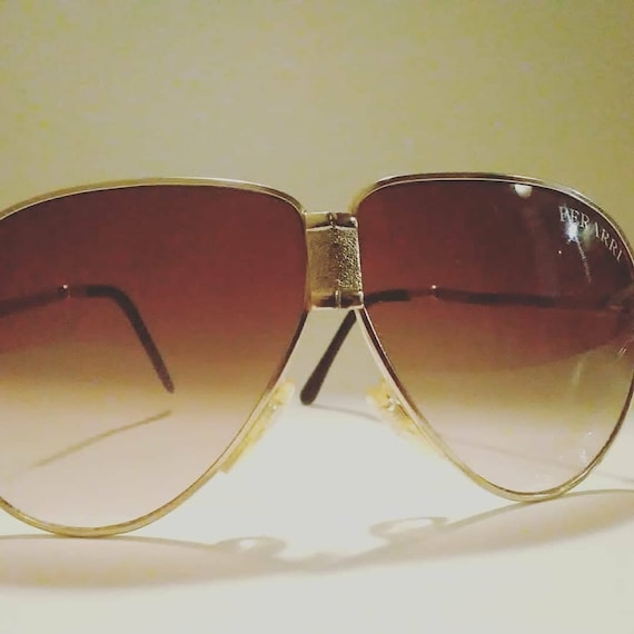 Vintage Aviators By Ferrari Foldable With Case Kelso Flow