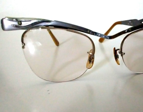 Vintage Bausch & Lomb Cat Eye Glasses