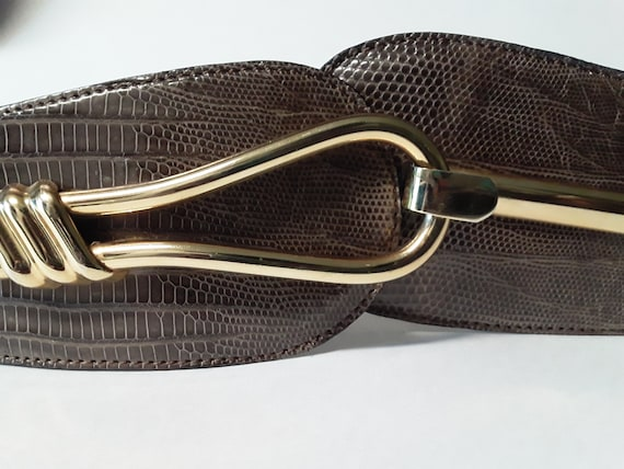 Lizard Skin Vintage Cinch Belt