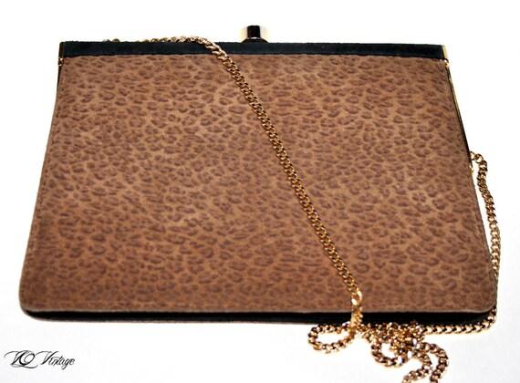 Rare Antique 40s Handbag/ Clutch By French