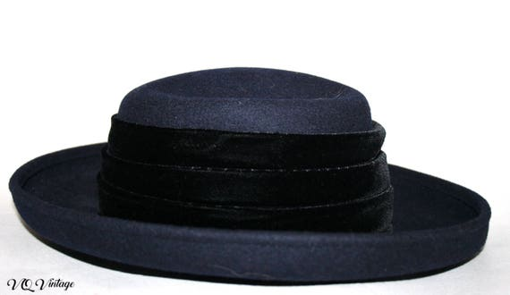 Eric Javits Hat 90s Lisa Bonet Flow