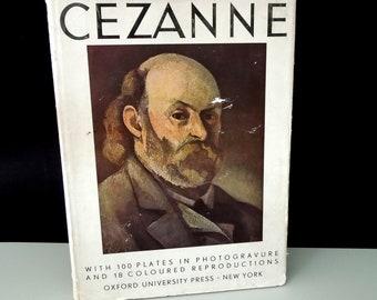 Coffee Table Book Cezanne Art Book Vintage - Gift Artist Art Lover - 100  Photogravure & 18 Color Plates Prints