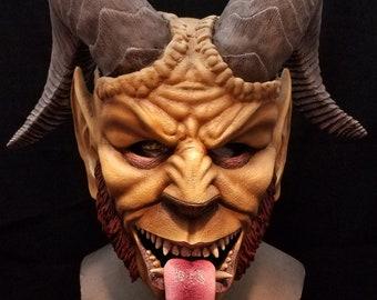 Krampus Mask Etsy