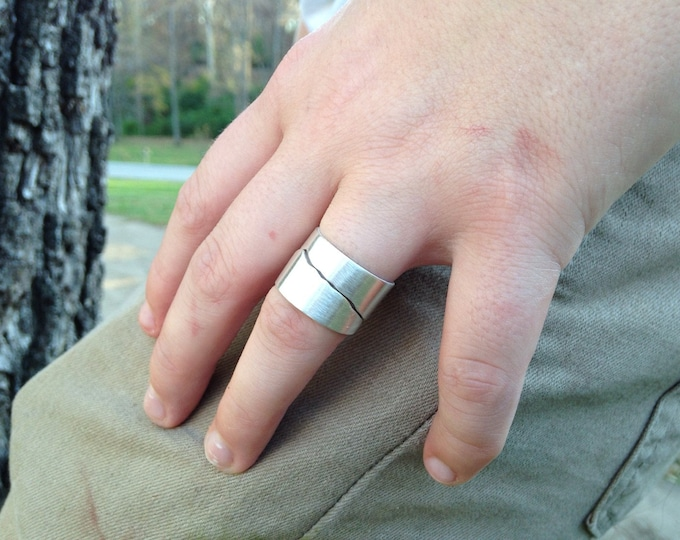 Silver Rustic mountain range Band Solid Sterling Silver Rustic Ring Your choice of mountain range with coordinates on inside