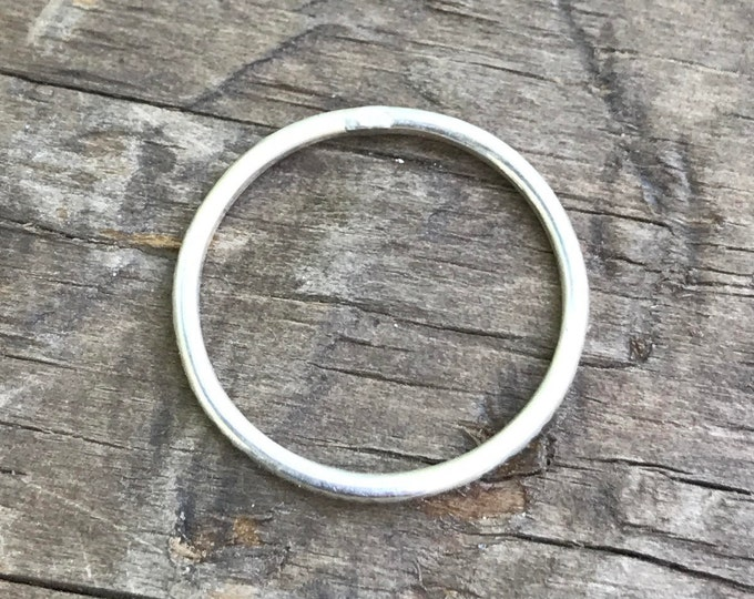 Stacking Rings Sterling Silver stacking midi rings knuckle rings Rustic silver