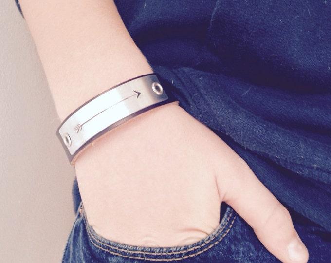 Arrow Leather bracelet arrow find your way bracelet hipster gift for men <--------<<<