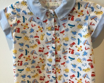 Button down collared shirt for toddlers - Size 2