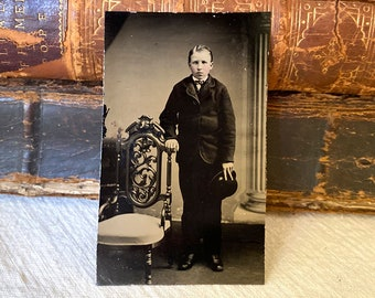 Antique Ambrotype Photograph A Nervous Young Man - 1800s Photography