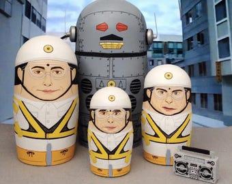 Beastie Boys Intergalactic Planetary Matryoshka Dolls