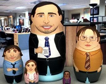 The Office Matryoshka Dolls